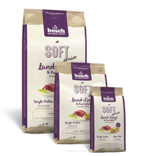 Bosch SOFT SENIOR Farm-Goat & Potato (kozina i ziemniaki) 1 kg
